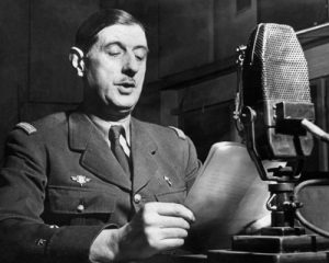 Charles DeGaulle on BBC