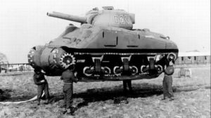 Ghost Army inflatable tank