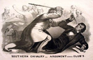 The Caning of Charles Sumner by Preston Brooks