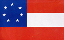 1st Confederate National Flag