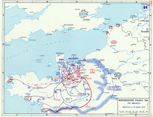 Normandy Breakout Map