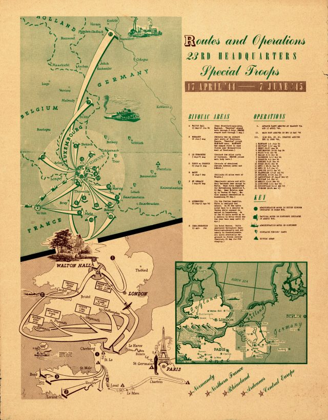 Ghost Army Map